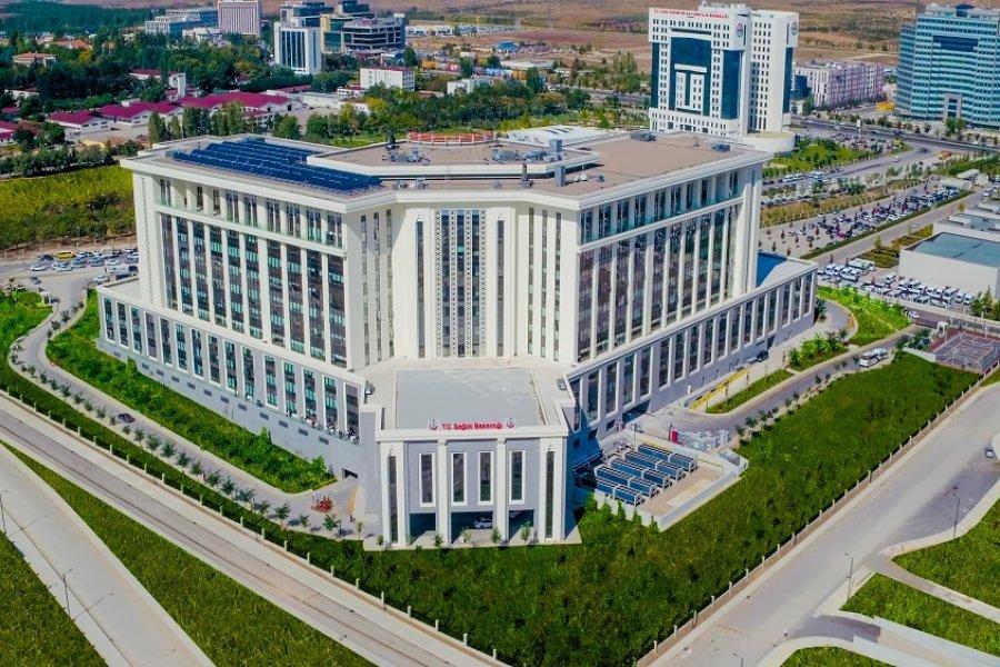 Projelerimiz : Ankara Entegre Sağlık Kampüsü Bilkent
