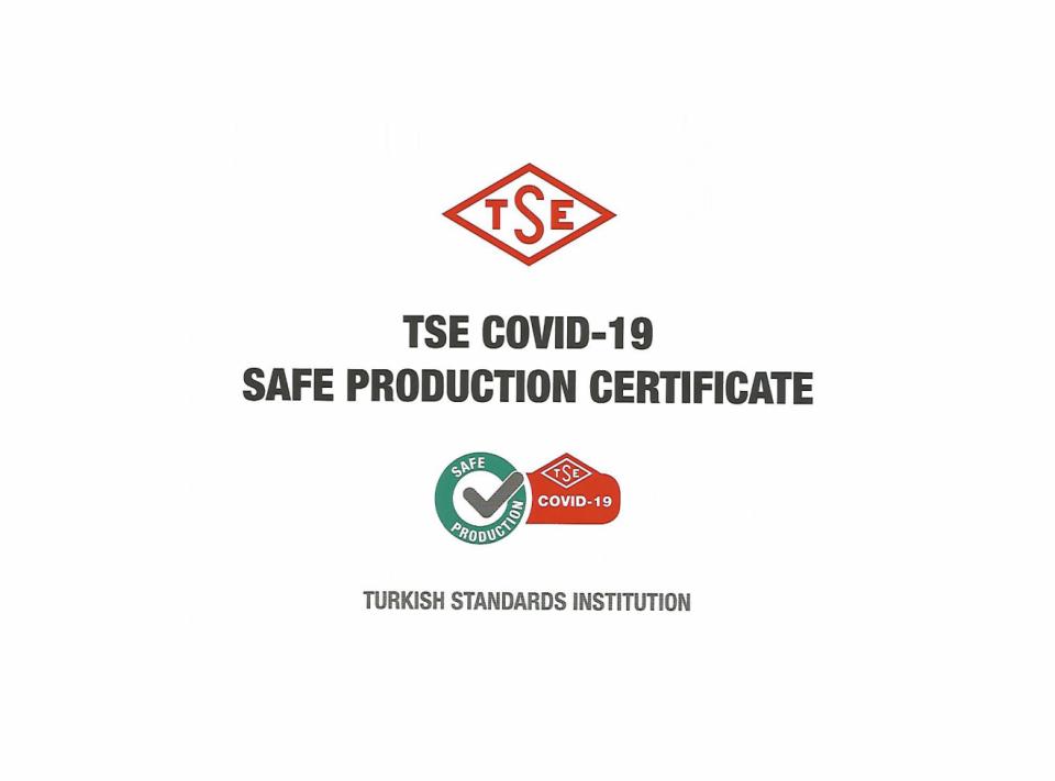 Covid-19 Güvenli Üretim Belgesi